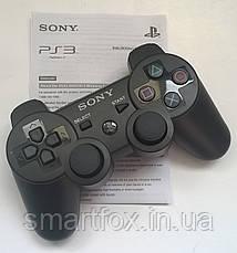 Джойстик для ПС3 (PS3 Sixaxis) Аккумулятор, PlayStation 3, Китай, Черный, фото 3