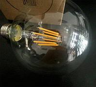 LED лампа Эдисона G-125  (4w) (6w) (8w)