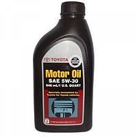 Масло синтетика TOYOTA(ТОЙОТА) Motor Oil 5W-30 1л