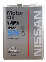 Синтетическое моторное масло Nissan Strong Save X 5w-30