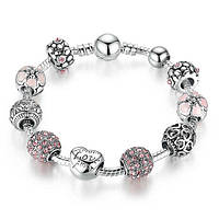 Нежный браслет в стиле Pandora