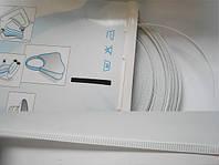 Регилин корсетный белый 7мм (Белый корсетный регилин 1м)