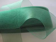 Темно зеленый  регилин 50мм (В 1 мотке-22м)