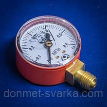 Манометр МП-50 0,6МПа С3H8 (пропан)