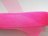 Ярко-розовый регилин  40мм (В 1 мотке 22м (25ярд))