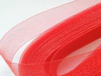Красный регилин  40мм (22м) (В 1 мотке 22м)