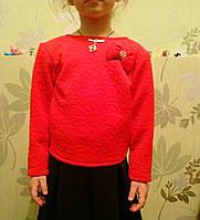 Блуза кофточка для девочек 116-134 рост