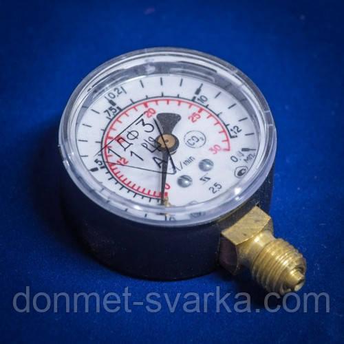 Манометр-расходомер 30/12 (углекислый газ)