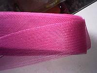 Малиновый  регилин  40мм (В 1 мотке 22м (25ярд))