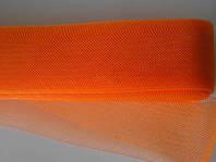 Оранжевый  регилин  40мм (В 1 мотке 22м)