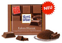 Шоколад Ritter Sport KAKAO-MOUSSE (КАКАО МУСС) Германия 100г, фото 1