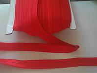 1,5см  резинка-бейка красная 44м