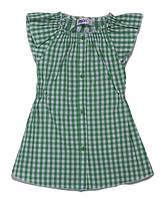 Детская блуза  летняя удлиненная для девочки 110 см
