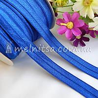 Резинка для повязок (эластичная бейка), 1,5 см, синяя