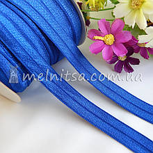 Гумка для пов'язок (еластична бейка), 1,5 см, синя