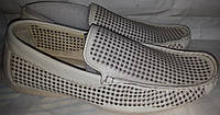 Мокасины мужск летние кожаные p42 MARANELLO 8040