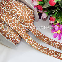 Резинка для повязок (эластичная тесьма), Леопард
