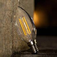 LED лампа Эдисона C-35  (4w)