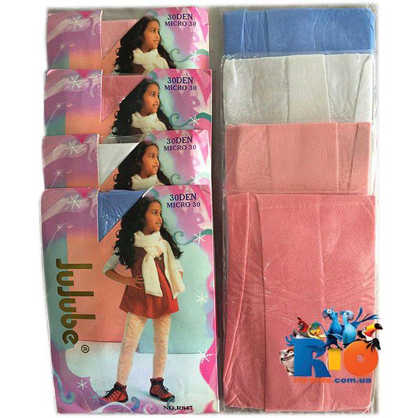 """Детские  колготки """"R847"""" , микрофибра , для девочек от 6-12 лет"""