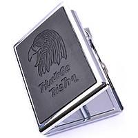 Портсигар с зажигалкой на 10 сигарет Huayage Dishu 8701D
