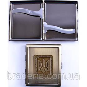 Портсигар на 20 сигарет AM-002 Украина