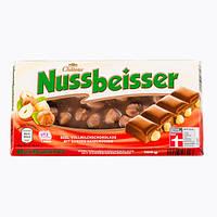 """Молочный шоколад с лесным орехом """"Choceur"""" Nussbeisser 100 г"""