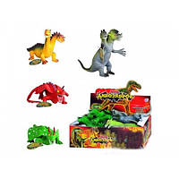 Животные Динозавры резиновые 7208