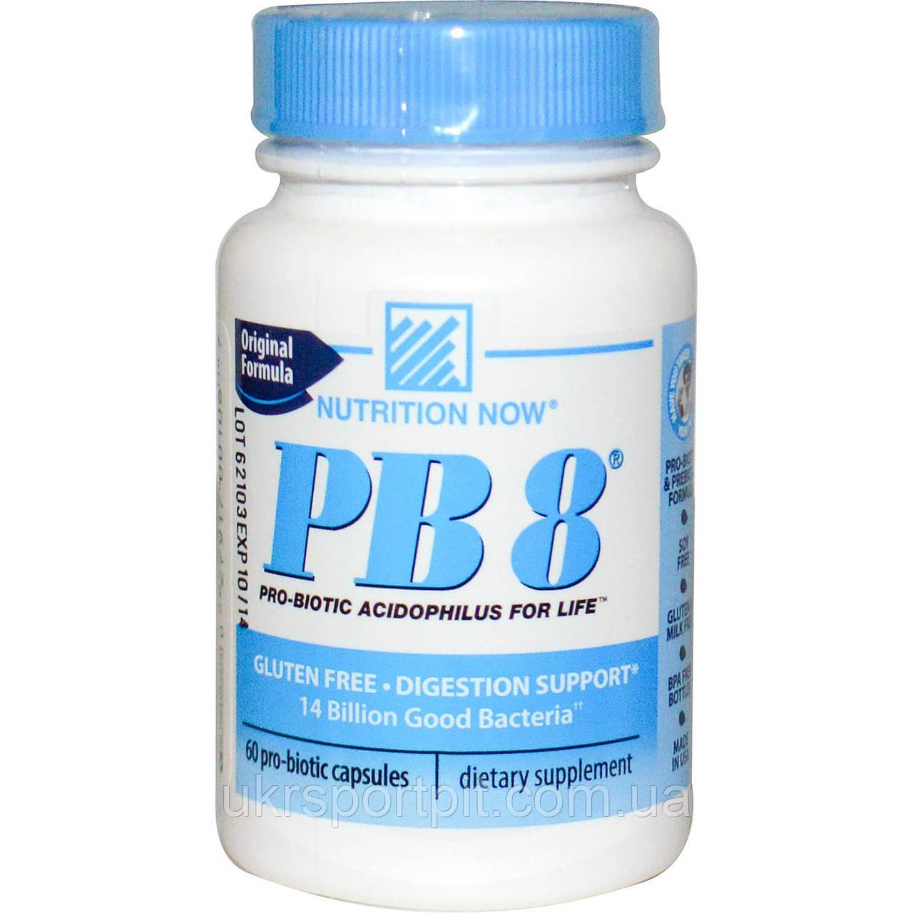 Nutrition Now PB8 60 Pro-Biotic Capsules