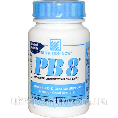 Nutrition Now PB8 60 Pro-Biotic Capsules