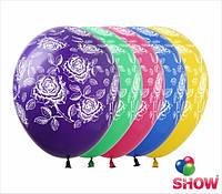 """Воздушные шарики Розы 12"""" (30 см)  ТМ Show"""