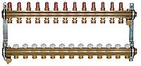 Коллектор для теплої підлоги Herz DN 25 (G 1) 13 контурів