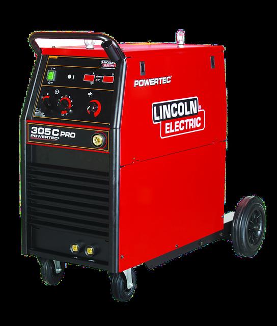 Powertec 305C PRO сварочный полуавтомат LINCOLN ELECTRIC