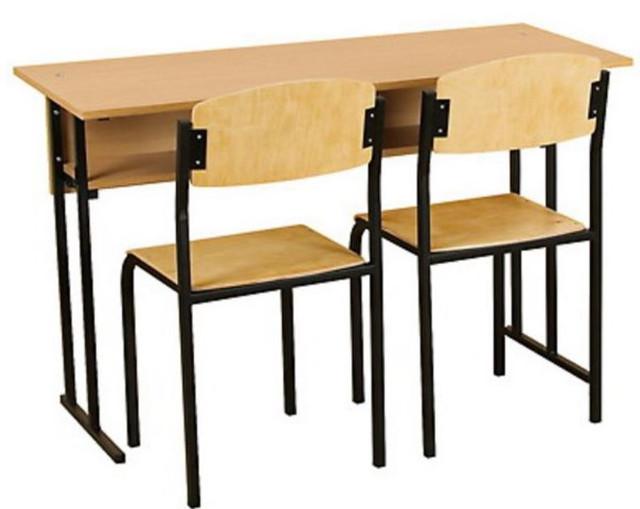 Школьная мебель, мебель для учебных заведений (парты, стулья).