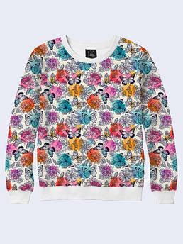 Женский пуловер Полет бабочек