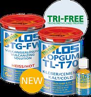 Клей NILOS TOPGUM TL-T 70 TRI-FREE черный
