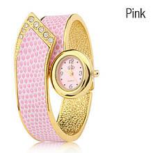 Наручные часы - браслет c кристаллами Miss II - 3 варианта