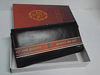 Мужской кошелек Petek Collection P-2019 Black, стильные кошельки, Питэк колекшион, кошельки, портмоне
