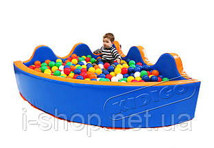 Сухой бассейн KIDIGO™ Небо 1,2 / 2,0 м, фото 3