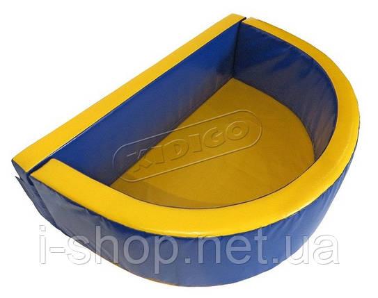 Сухой бассейн KIDIGO™ Полукруг 2,6 х 1,3 м, фото 2