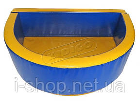 Сухий басейн KIDIGO™ Півколо 2,6 х 1,3 м, фото 2