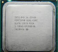 Процессор Intel Pentium Dual-Core E5400 2.70GHz/2M/800 (SLGTK) s775, tray
