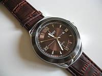 Стильные часы Tissot шоколадного цвета от студии LadyStyle.Biz