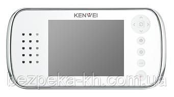 Видеодомофон  Kenwei  KW E562FC-W80    WHITE