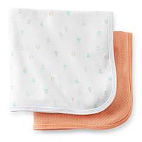 Комплект пеленальных одеял пеленок Carters Воздушный Шар