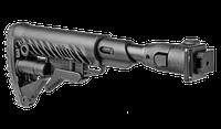Складной приклад с амортизатором отдачи для АКС-74, АКСУ-74, M4-AKSSB, фото 1