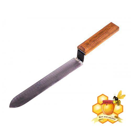 Нож пчеловода 200 мм черный Дн