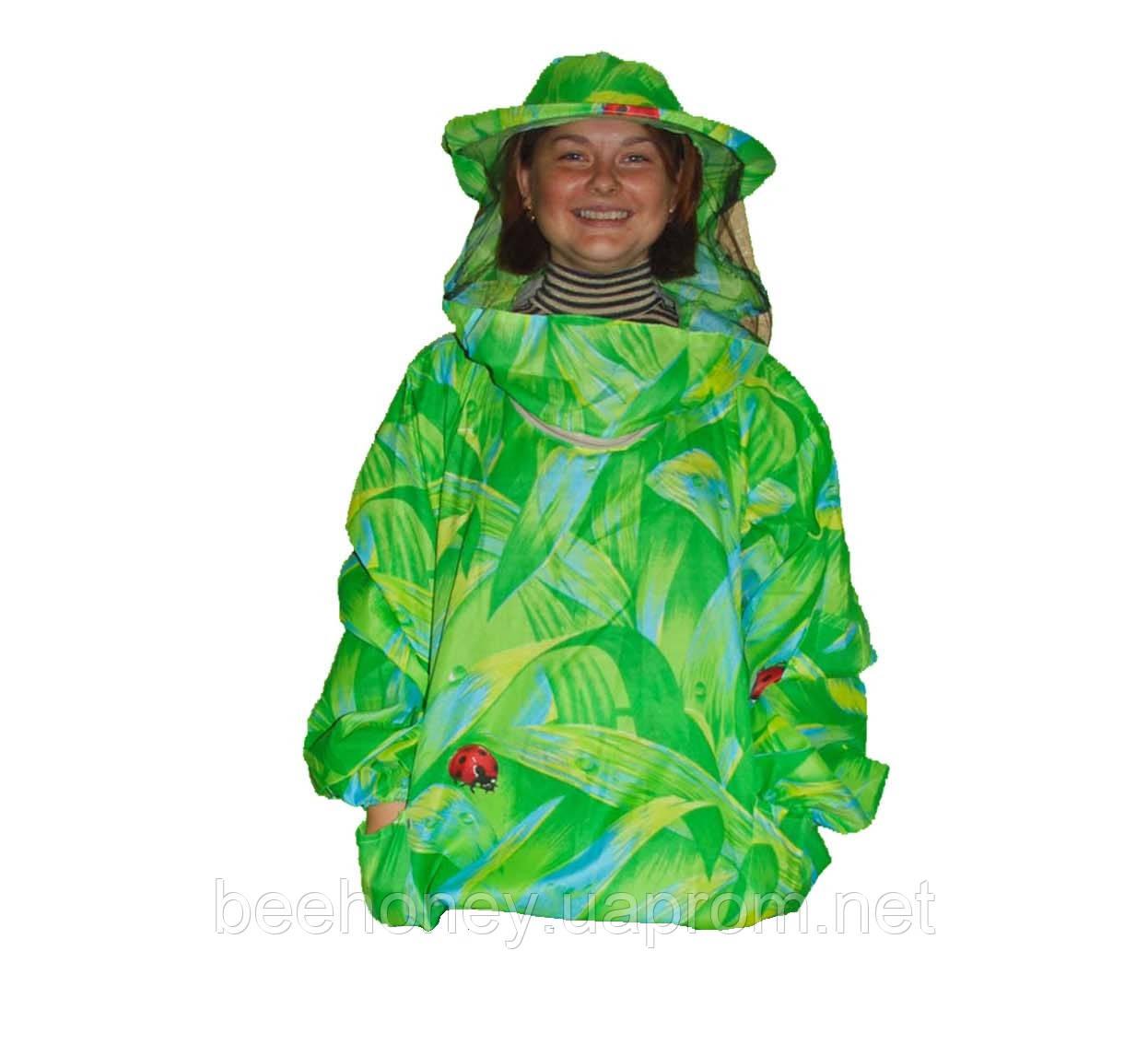 Куртка пчеловода Классика 100% Хлопок облегчённый. Разме Классика 100% Хлопок облегчённый. Размер ХХXL / 56-58