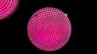 Камни пришивные, розовые