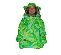 Куртка пчеловода Классика 100% Хлопок облегчённый. Размер ХХXXL / 58-60