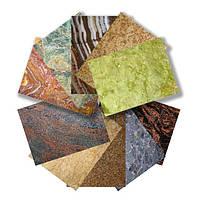 Природный камень: мрамор, гранит, травертин, песчаник, оникс, кварцит.